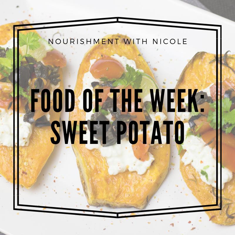Food of the Week:  Sweet Potato
