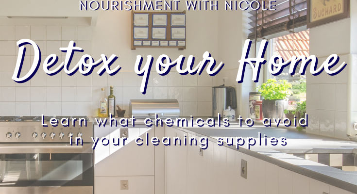 Detox Your Cleaning Supplies