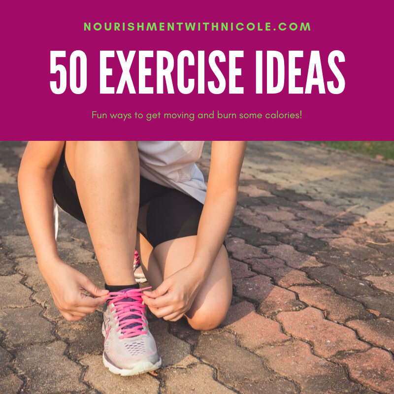 Fun Ideas for Exercising!