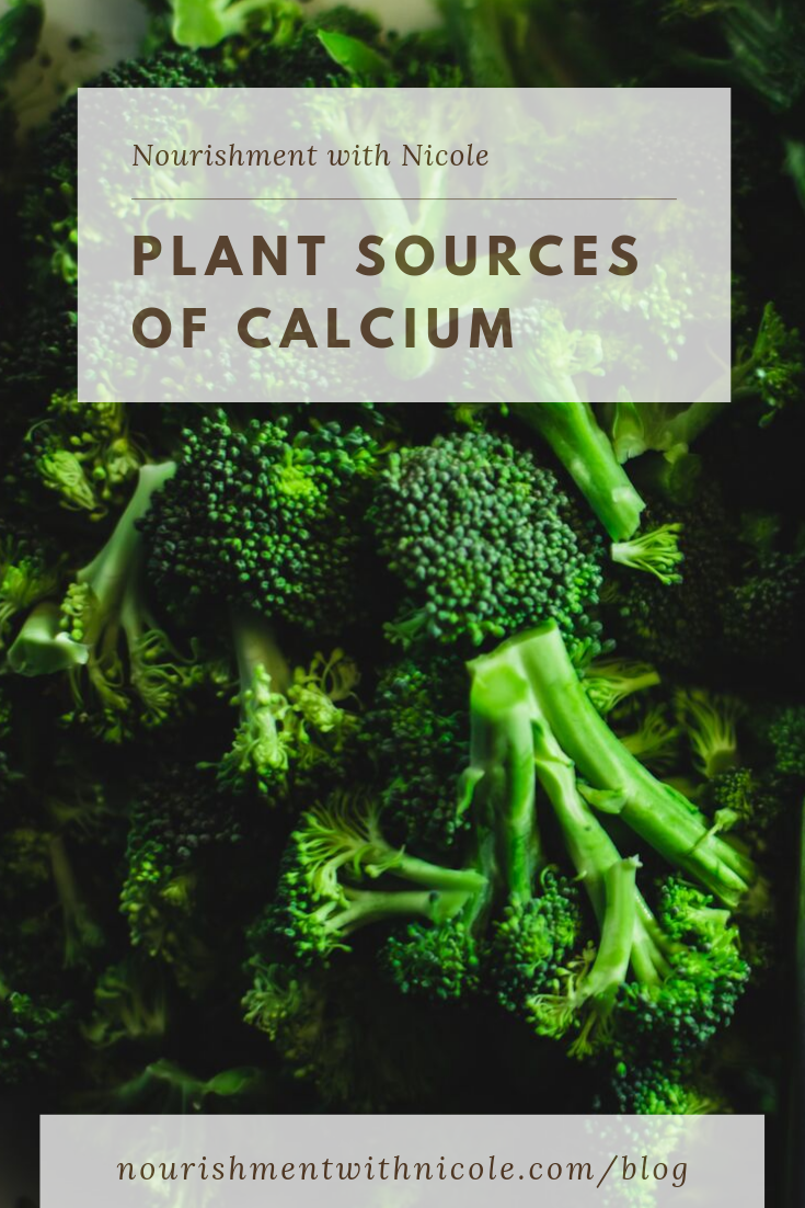Plant Food Sources of Calcium